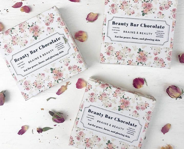 beauty bar wellness chocolates
