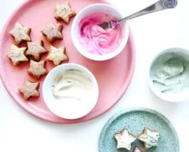 Keto Cookies colorful frosting