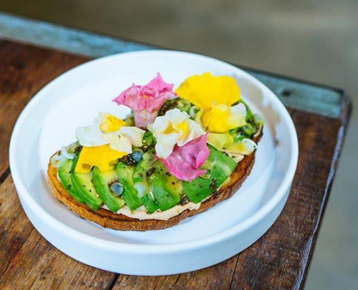 Avocaderia avocado toast