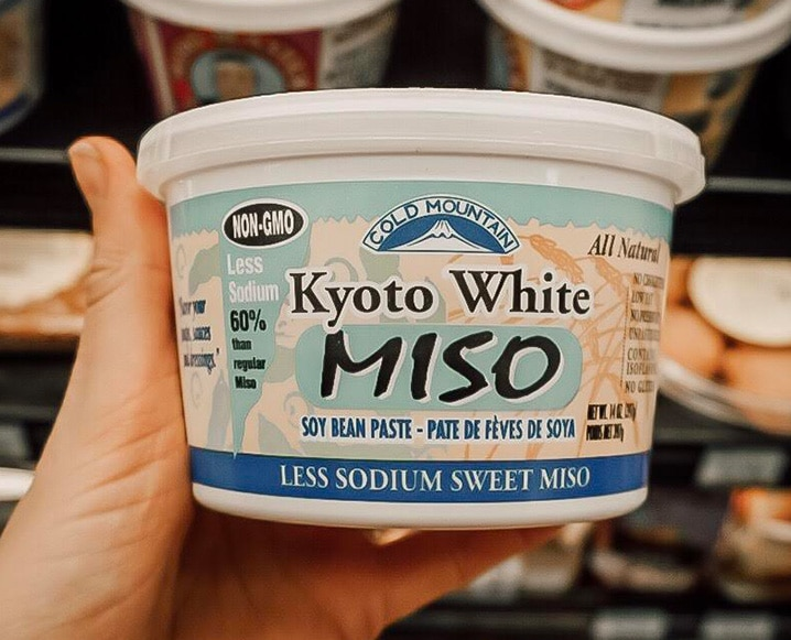 packaged fermented food miso