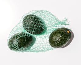 vegan paleo diet bag of avocadoes