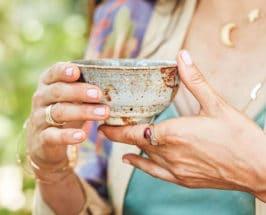Tea Ceremony shiva rose