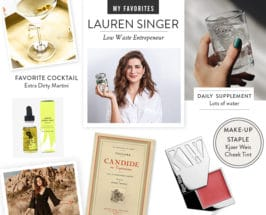 Trash Is For Tossers' Lauren Singer's Favorite Things For A Low-Waste Lifestyle