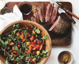 Danielle Walker's Paleo-Friendly Steak Salad With Roasted Veggies