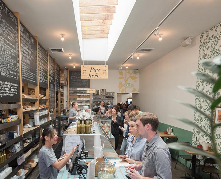Huckleberry cafe recipe restaurant interior