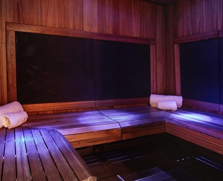 marathon recovery infrared sauna