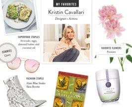 My Favorites: Kristin Cavallari On Beauty, Wellness + A Cozy Home