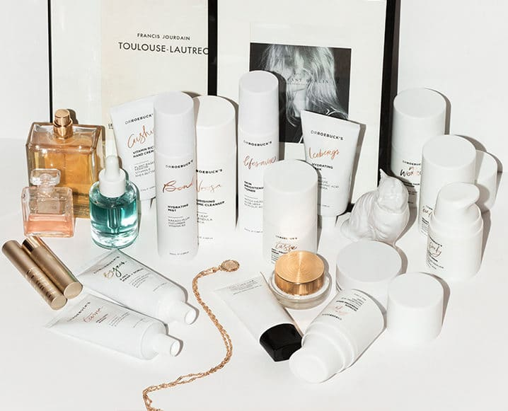 Dr. Roebuck skincare products