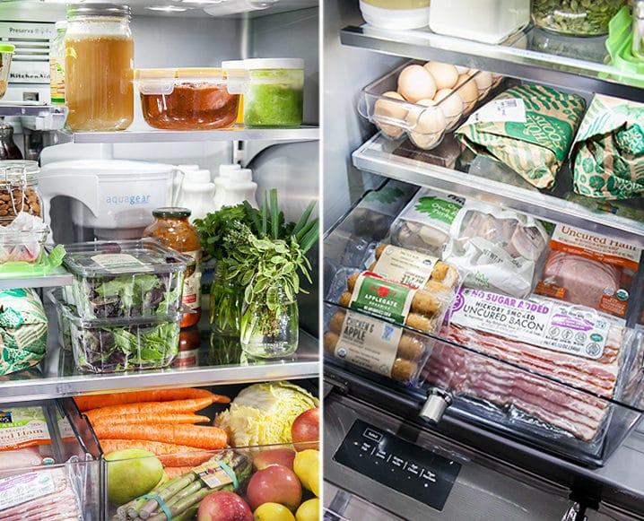 danielle walker fridge interior