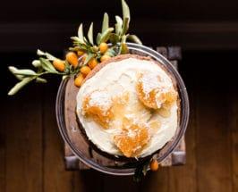 blood orange Buttermilk Cake