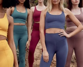 Working Out Too Much women in fitness clothes