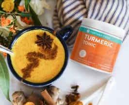 further food turmeric tonic latte