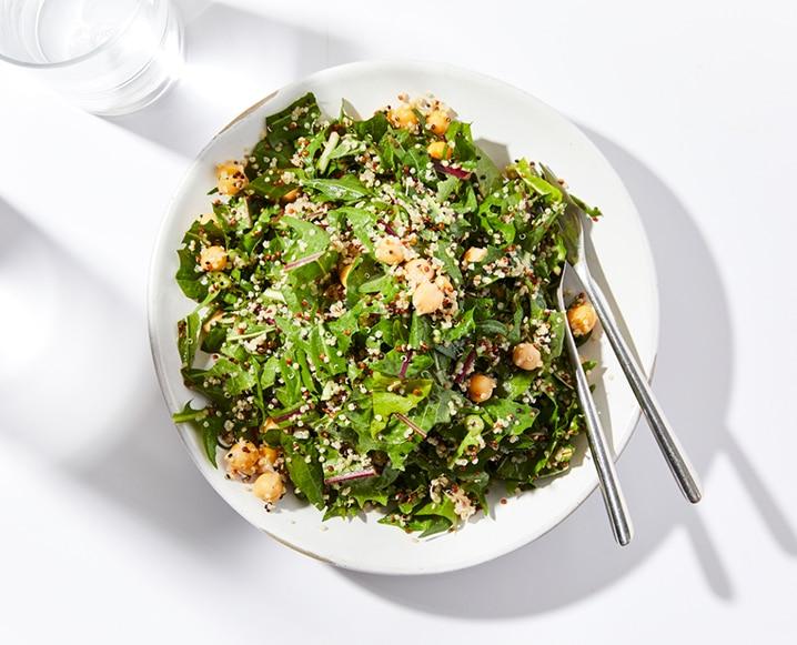 Dandelion Greens Salad recipe