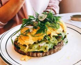 skipping breakfast tips toast on plate