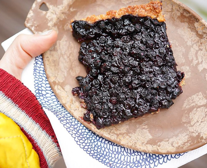 wild blueberry tart recipe