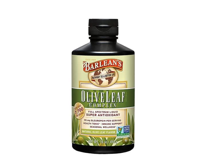 barlean's liquid olive leaf benefits