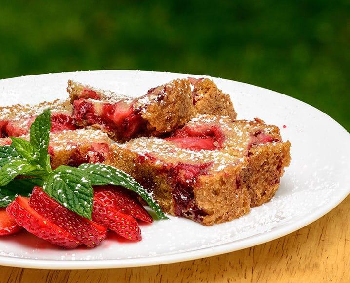 amish strawberry bread