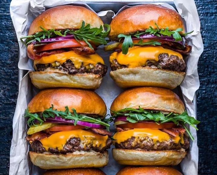 blender burger project
