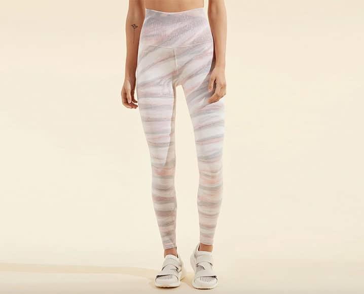 soft died leggings