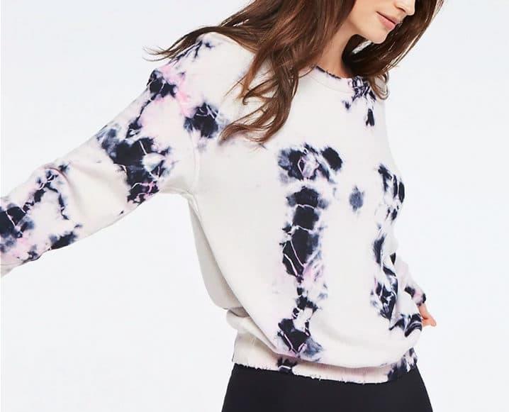 Tie Dye Fitnesswear Trend sweatshirt