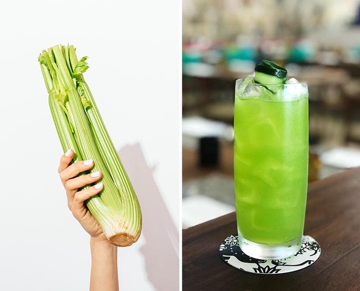 Celery Juice Cocktail recipe