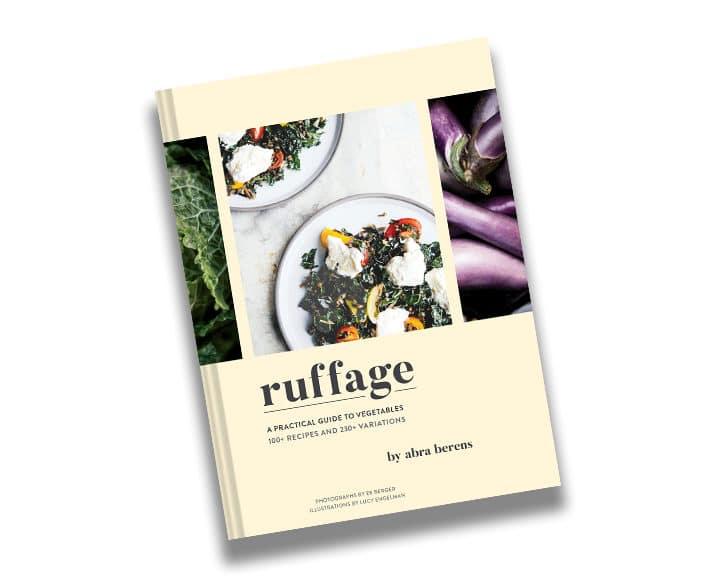 ruffage modern cookbooks