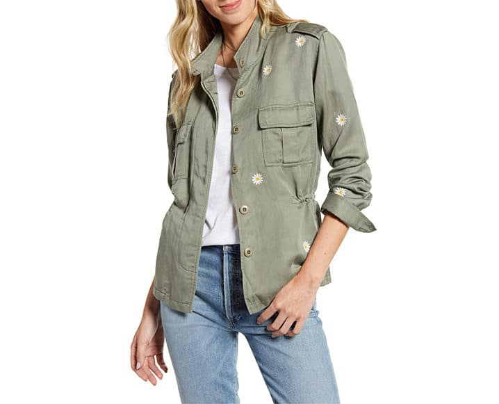 nordstrom sustainable style jacket