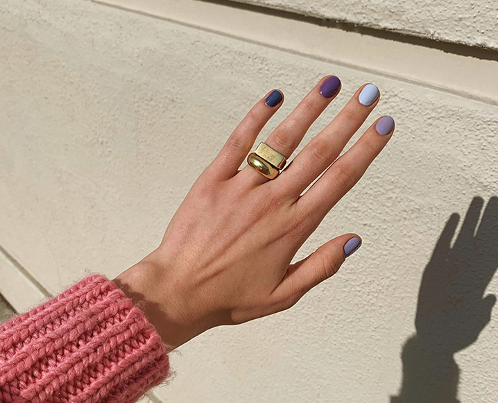 TCM Obsession: The Non-Toxic Ombre Manicure From Olive + June