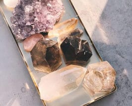 cleanse your crystals