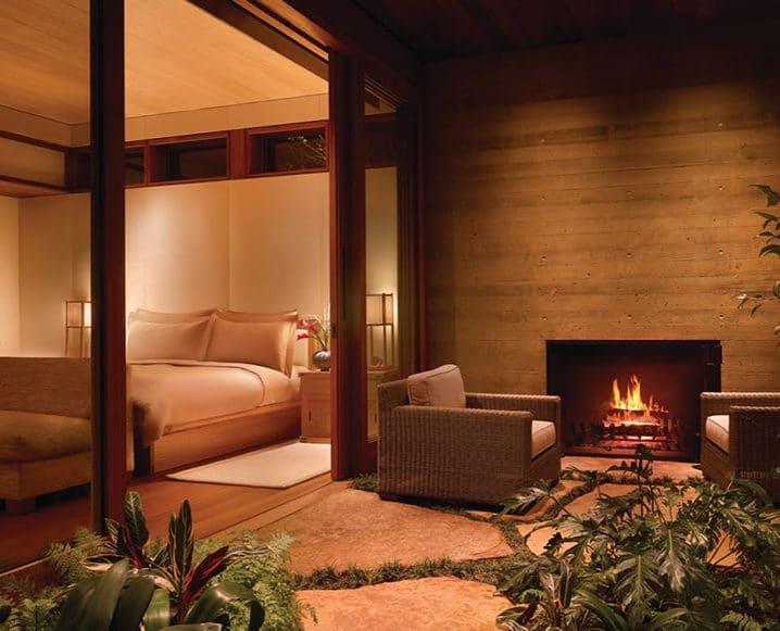 cozy hotel room malibu