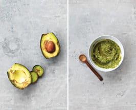 overripe avocado