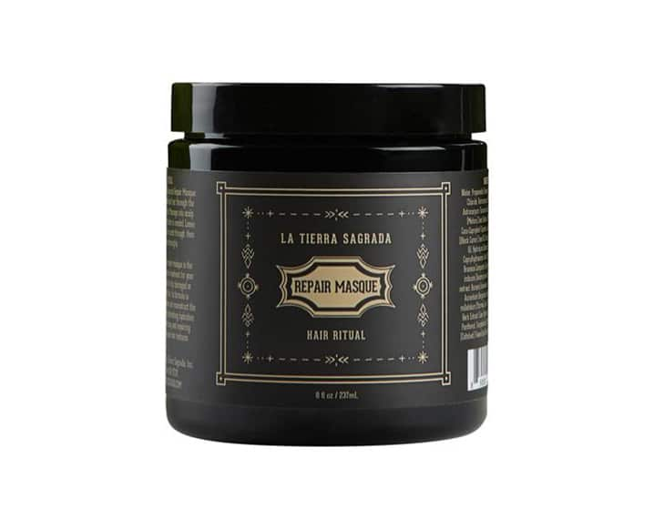 clean hair product la tierra sagrada repair masque