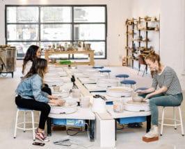 experiential gift ideas ceramics class