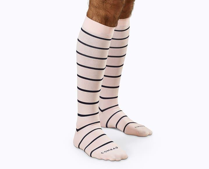 muted rose socks health wellness