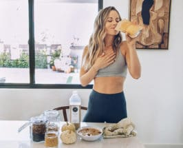 At Home With Sophie Jaffe: Coffee, Nut Butter + Oat Milk Bowls