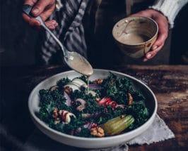 Adaptogenic Miso-Tahini Salad Dressing to Boost Immunity