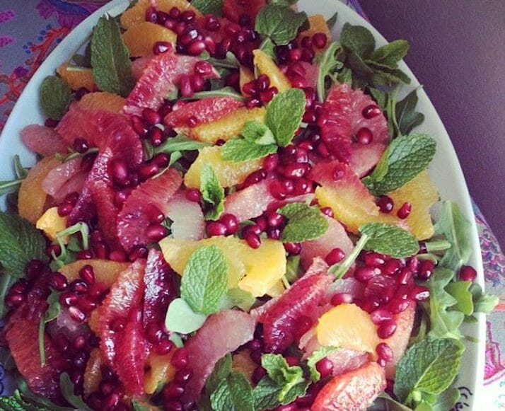 Segmented Citrus Salad With Pomegranate