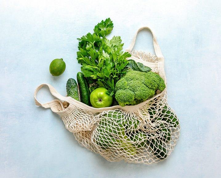 green veggies food fix book
