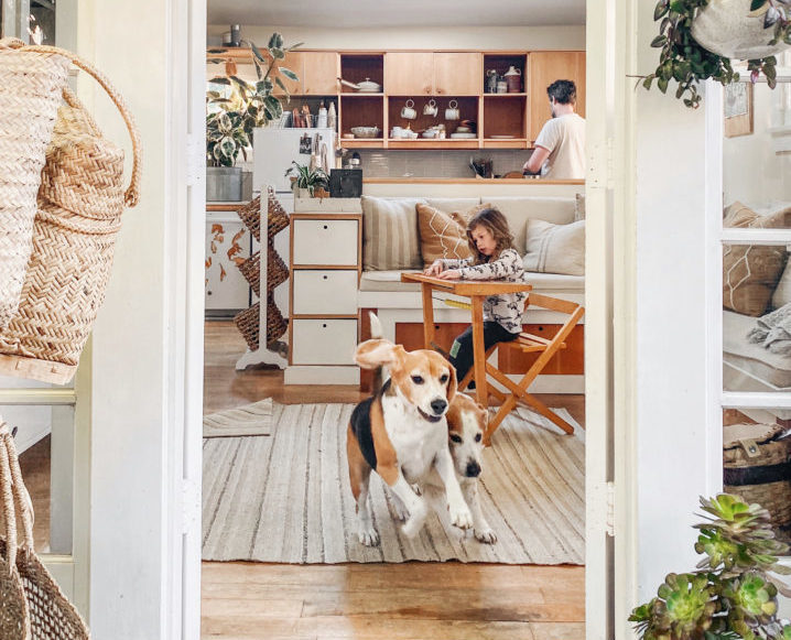 Staying At Home: Inside the Tiny Canal Cottage with Whitney Leigh Morris