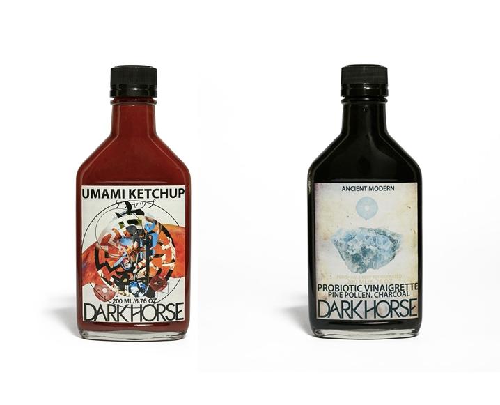 dark horse organics bottles