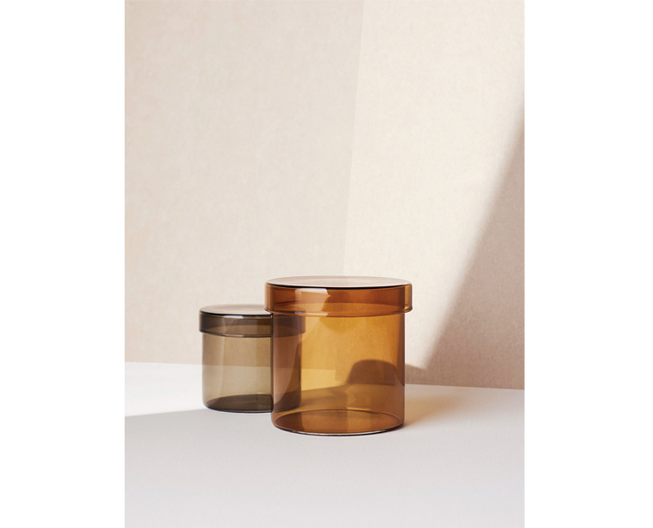 hay glass containers