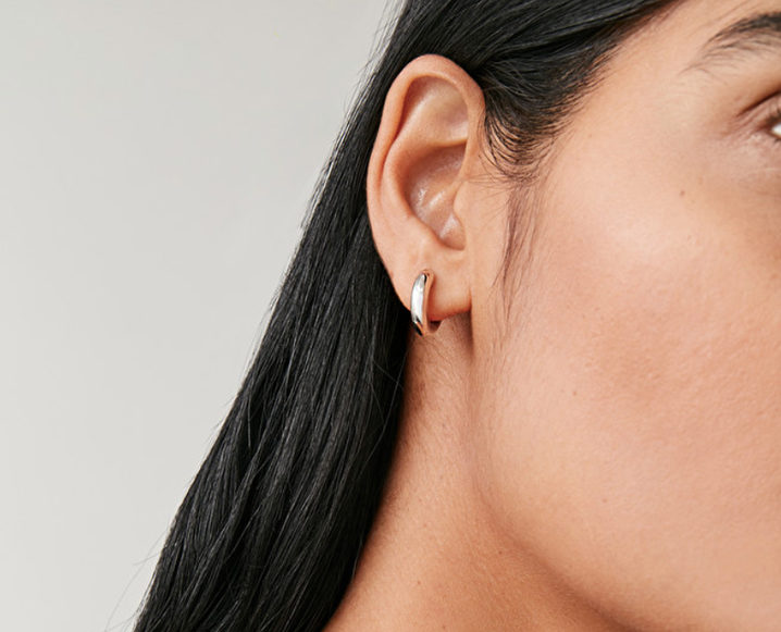 small hoop gold earrings aurate