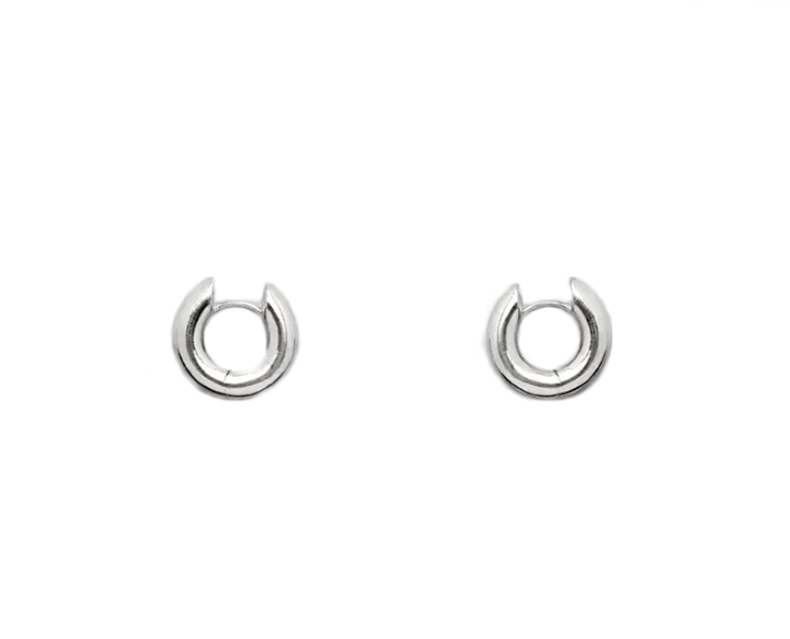 cos chunky hoop earrings