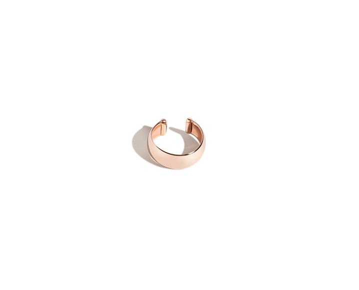 aurate ear cuff rose gold