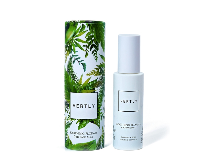 vertly soothing floral mist