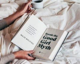 break the good girl myth book in bed
