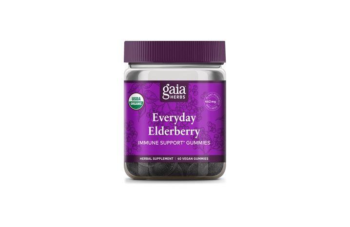 gaia everday elderberry gummies