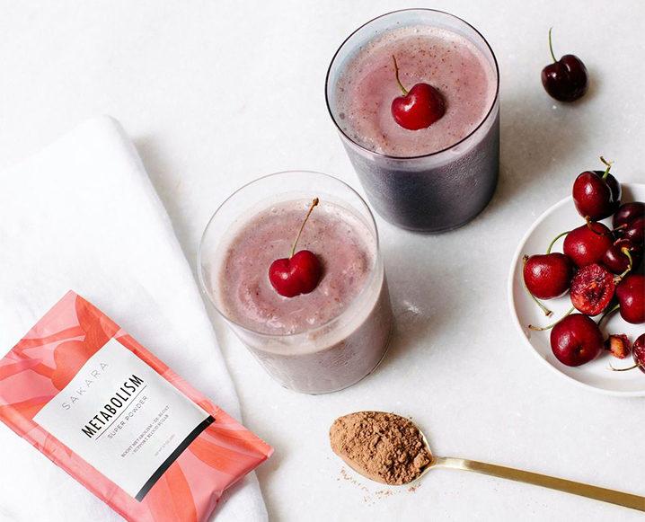 metabolism smoothie cherries
