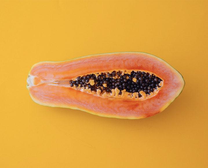 papaya in half to raise Glutathione Levels