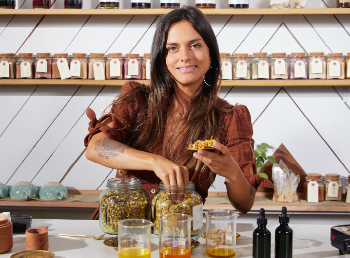 Mornings with Herbalist Adriana Ayales Of Anima Mundi